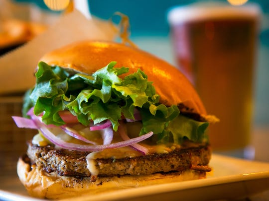The new Impossible Burger is being served next week at Grain H2O in Bear and their Newark and Kennett Square locations. The Impossible Burger is a brand, it's a new vegetarian burger celebrity chefs are going bonkers over because it supposedly looks and tastes like real meat. Grain will be serving it with house made roasted garlic Sriracha aioli, red onions, diced pickles, lettuce, tomato, cheddar jack on a brioche bun.