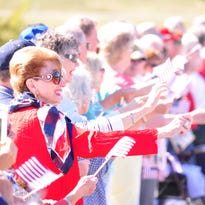 The Welcome Home Veterans Parade will be at 10 a.m. on Thursday, September 15 at Liberty Park.