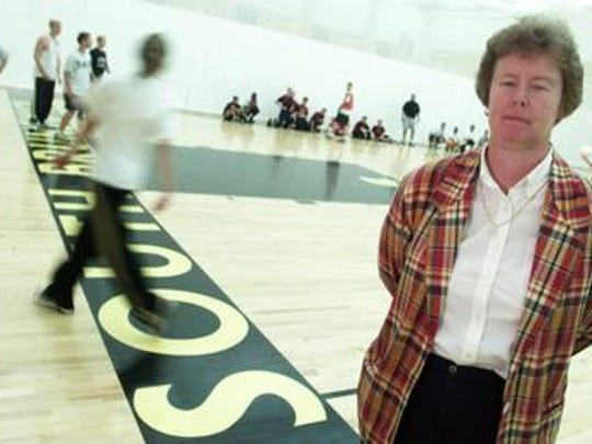 Elaine McGrath at South Brunswick in 1999