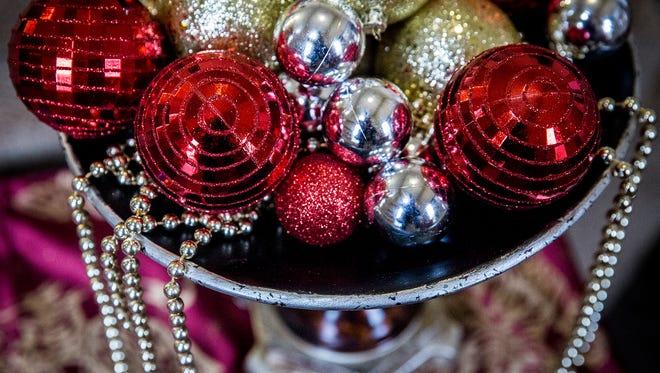 Glad Tidings Church decorates for the holiday season.