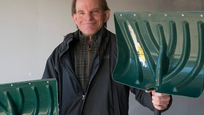 Jim Crowley volunteers his time to remove snow for senior citizens and the disabled. He will add lawn care services this spring.