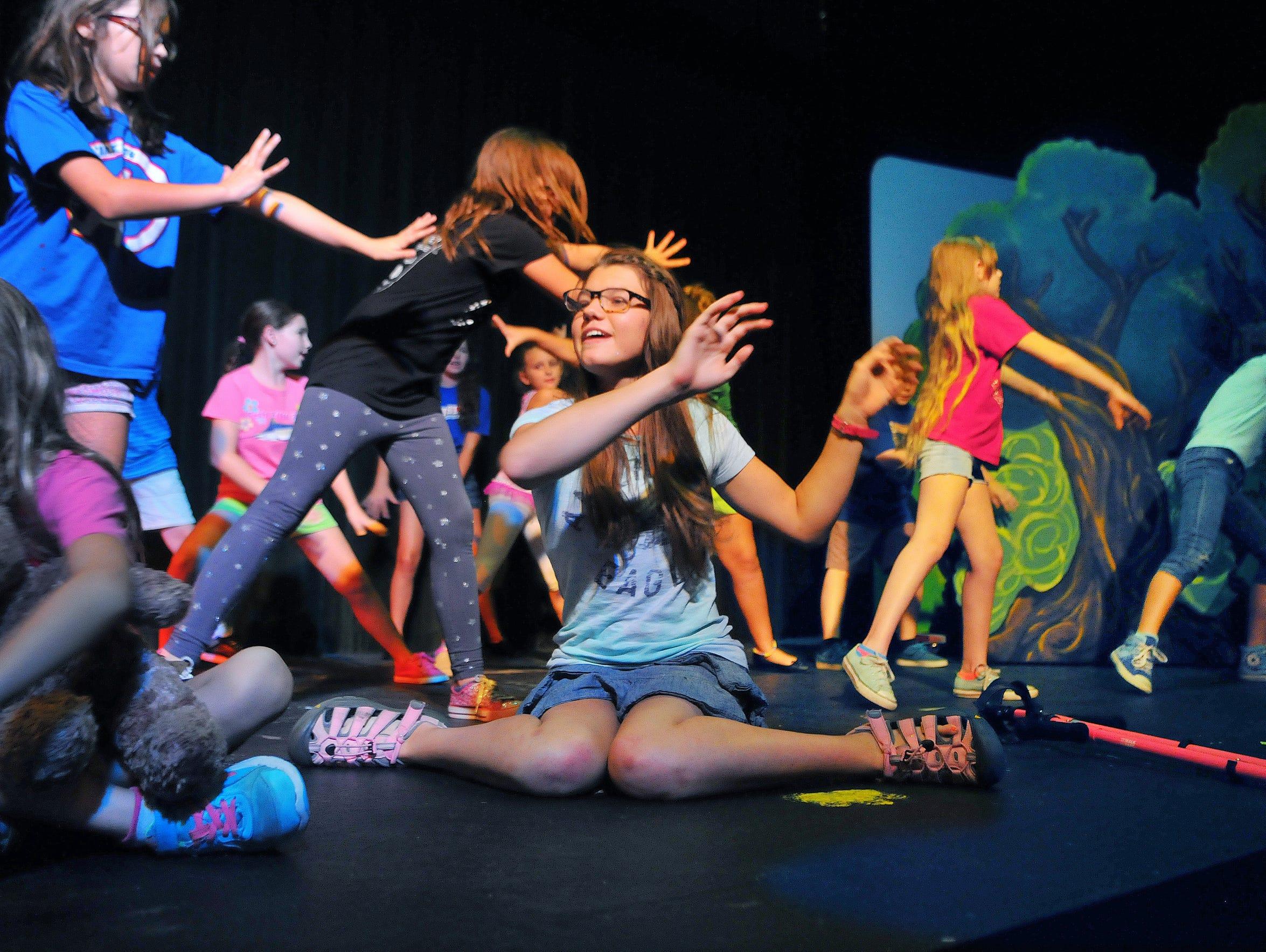 "Olivia, at center, appears in ""Disney's Peter Pan Jr."""