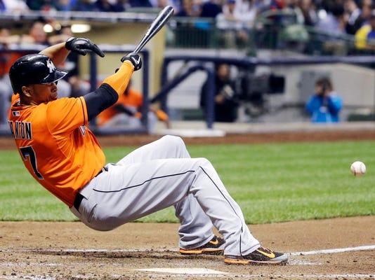 Marlins Stanton Basesball