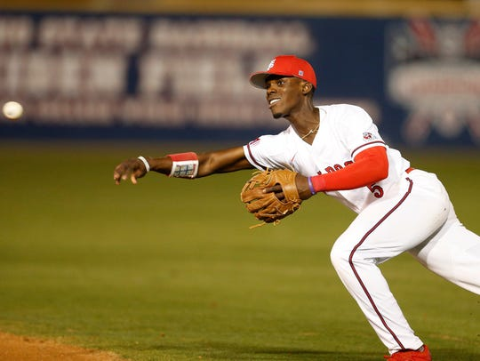 Fresno State's Jeremiah Burks was the Tigers' selection