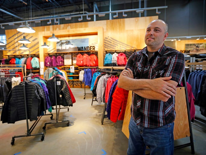 Store Manager Taggart Lewsader at the new West Des