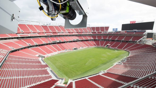 The weather for Super Bowl 50 in Santa Clara, Calif., calls for sunny skies and a temperature of 70 degrees.