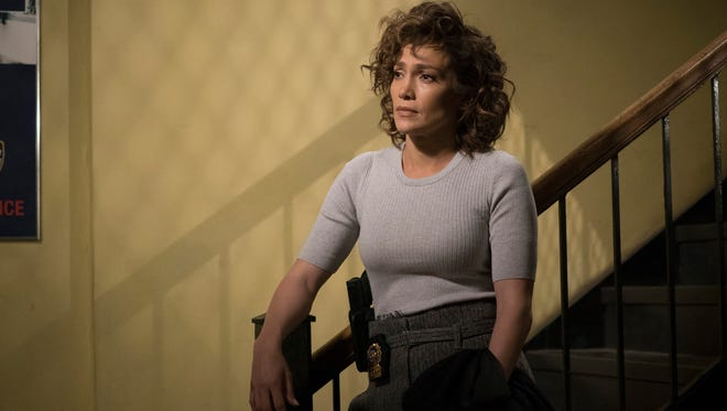 Jennifer Lopez plays detective Harlee Santos in NBC's 'Shades of Blue.'