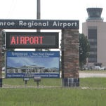 Monroe Regional Airport's main runway will be closed 20 days for construction, beginning Sept. 14