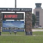 Monroe Regional Airport flights canceled until 10:30 a.m. Thursday