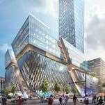 Dan Gilbert proposes Detroit's tallest building on old Hudson's site