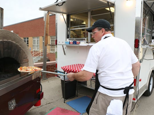Jon Turner, co-owner of the Parlo Pizza food truck,