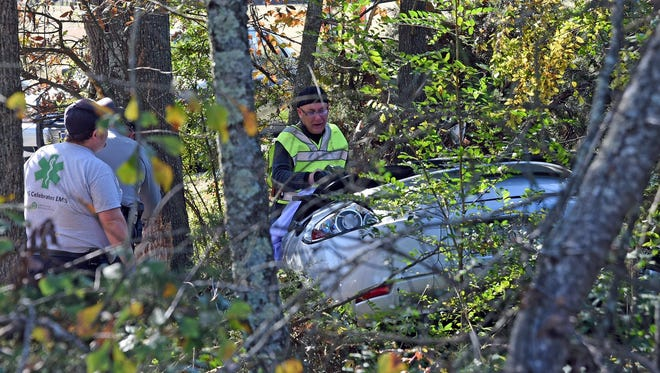 Anderson County authorities investigate a traffic fatality in Piedmont.