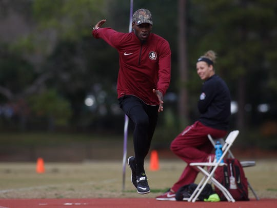 Former Wakulla High state champion high jumper Corion Knight spent three years at NAIA Florida Memorial University, becoming a national champion, and now he has one year to make his mark among the elites at Florida State.