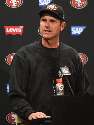 Jim Harbaugh and the San Francisco 49ers part ways