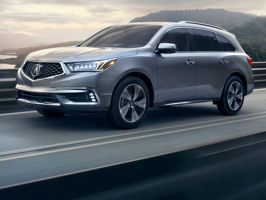 Review Upgrades Keep Acura MDX Crossover In Fast Lane - Acura mdx grille