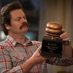 Tailgating with Nick Offerman and 4 more wild moments from an Iowa venue turning 50