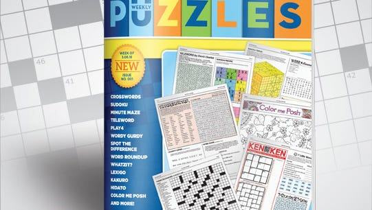 Weekly Puzzles is an all-new book of puzzles and games offering challenging fun for all skill levels. Weekly Puzzles is a 28-page book, stitched and trimmed on high-quality paper.