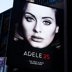 '25,' Adele's first album in four years, comes out Nov. 20.