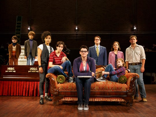 "The national tour company of ""Fun Home."""