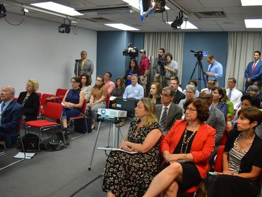 Ten Westchester County legislators came to the financial