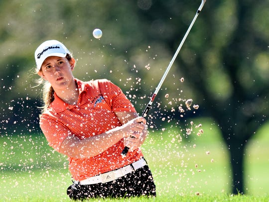 Cailey Roman captured the York County Junior Golf Association George Barton Match Play Championship girls' title on Tuesday. YORK DISPATCH FILE PHOTO