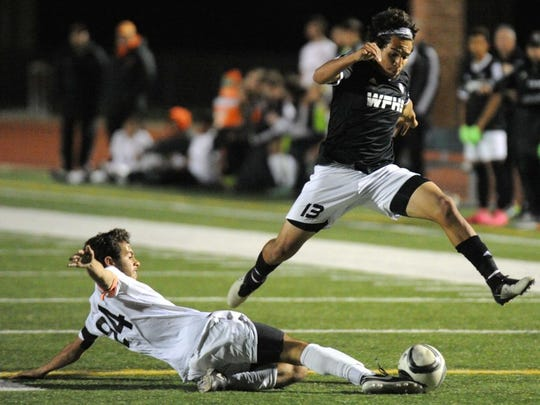 In this file photo, Wichita Falls High School's Carlos Gonzalez tries to get around an Aledo defender in a 2016 playoff game.