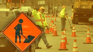 Weather permitting, final paving on Walnut Street in Elmira will begin 6 a.m. Monday.