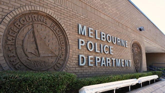 The Melbourne Police Department on Apollo Boulevard.