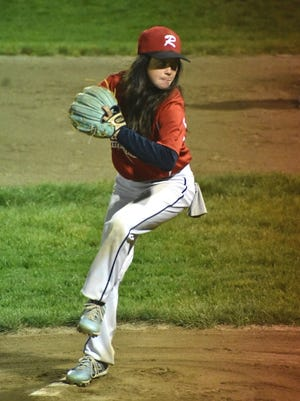 Morgan Lucas, 12, pitched for Rutland's Little League team and racked up some impressive stats.