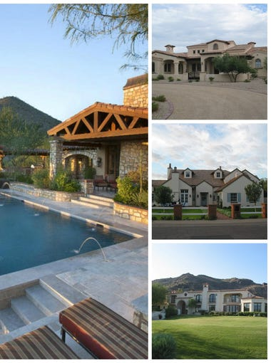 The most expensive homes sold in Phoenix for 2015.