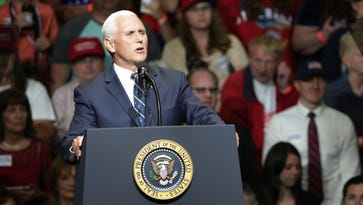 Pence turns attention to Texas school shooting ahead of Indiana tax reform event