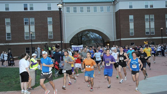 The 6th annual Valley of the Lilies Half Marathon is April 2 at Western Carolina University in Cullowhee, N.C.