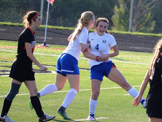 Springboro sophomore Olivia Page makes quick work of