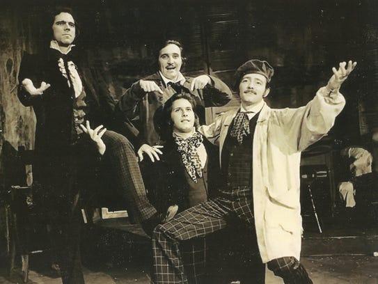 From left: Duane Skrabalak, Alan Crabb, Malcolm Arnold