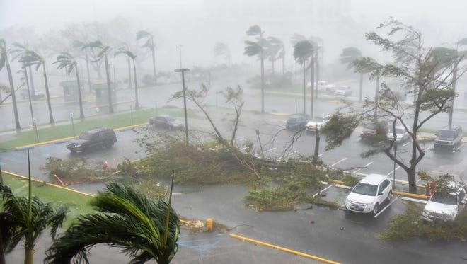 San Juan, Puerto Rico, on Sept. 20, 2017.