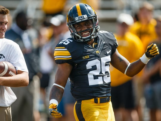 """Former Hawkeye running back Akrum Wadley, who was the MVP of the Pinstripe Bowl in his final game, said in a June 29 post that playing at Iowa was """"a living nightmare."""""""