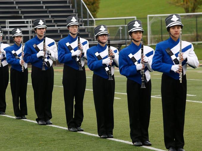 The Bondurant-Farrar High School Blue Jay Marching