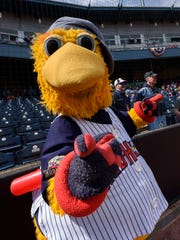 Muddy the Mud Hen is popular among kids in Toledo.
