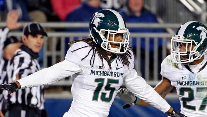 Michigan State cornerback Trae Waynes