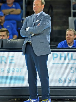 When MTSU is winning, coach Kermit Davis typically sticks with a two-suit, two-tie rotation for game days, though a sports jacket gets thrown into the mix with some regularity.