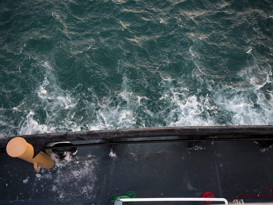 As part of the USCGC Neah Bay's pre-departure checklist,