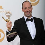 """Tallahassee actor and Young Actors Theatre alum Tony Hale (""""Arrested Development"""") is nominated for a third Emmy Award for playing the role of the brow-beaten Gary Walsh on HBO's caustic comedy """"Veep."""" The Primetime Emmy Awards show is being aired at 8 p.m. Sunday on FOX, with Andy Samberg serving as the host. Hale is batting .500 at the Emmys, having won one for best supporting actor in a comedy in 2013 (as shown here). During his acceptance speech, he gave a memorable, heartfelt shout-out to YAT. This year, he's up against Andre Braugher from """"Brooklyn Nine-Nine, """" Adam Driver from """"Girls,"""" Ty Burrell from """"Modern Family,"""" Keegan-Michael Key from """"Key & Peele"""" and Tituss Burgess for """"Unbreakable Kimmy Schmidt."""" Other nominations for """"Veep"""" include Julia Louis-Dreyfus and Anna Chlumsky."""