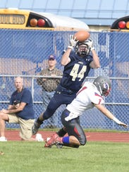 Susquehanna Valley's Billy Sheridan goes for the catch