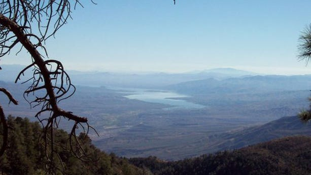This was taken up on Mt. Ord while out 4xwheeling of Roosevelt Lake