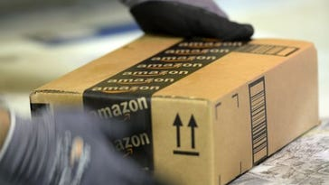 Your old Amazon boxes can be repurposed to send donations to Goodwill, and Amazon will pay for the shipping. (Photo: Kevork Djansezian, Getty Images)