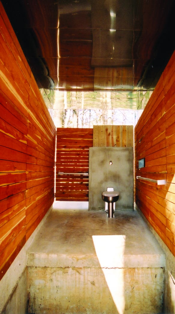 The 50-foot-high 'tall toilet' is in Perry Lakes Park.