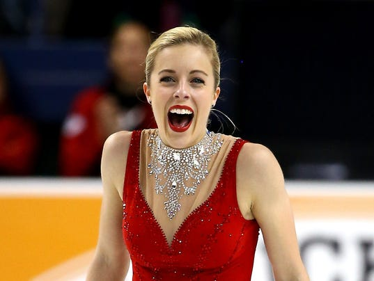 Ashley Wagner Makes Powerful Statement In 3rd U S Title