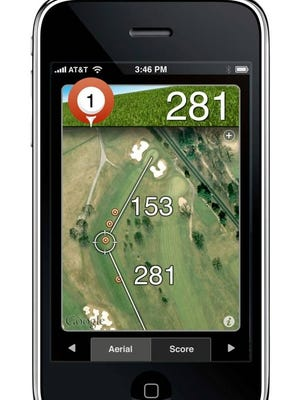 A must-have app for golfers of any skill level, Shotzoom Software's Golfshot GPS is a comprehensive app that folds in score-tracking, tee times and GPS-based distance information per hole.