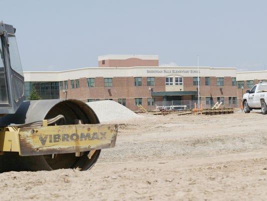 Sheboygan Falls middle school construction