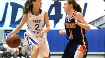 Fort Defiance's Faith Farley made her college choice official Tuesday afternoon, signing with Davis & Elkins